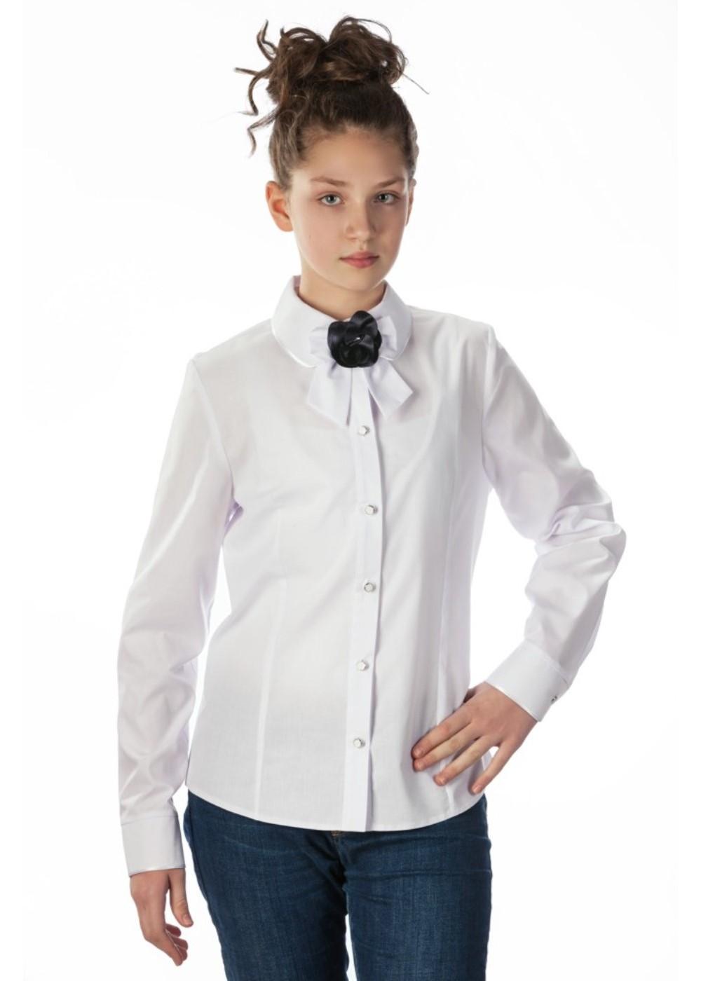 Блузки школьные фото купить